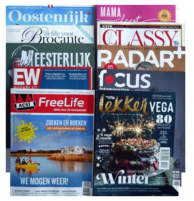 Win een abonnement op je favoriete blad
